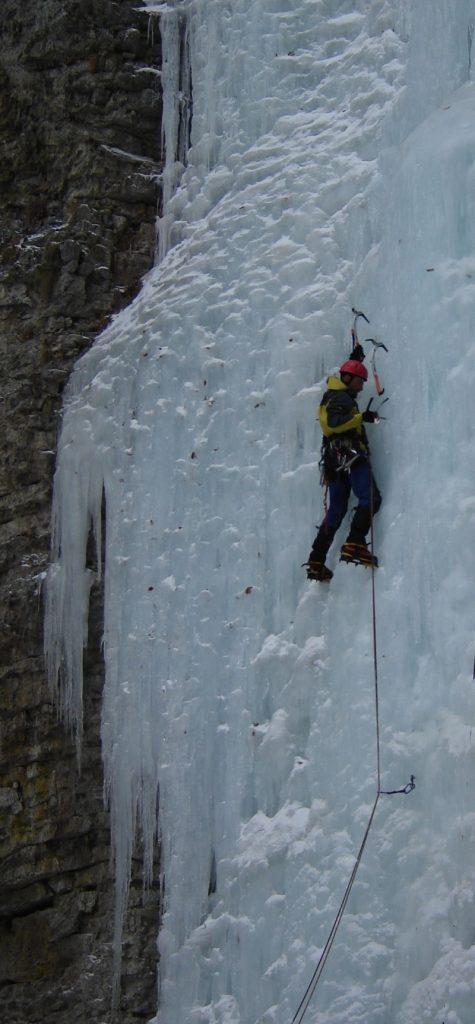 Zimné lezenie