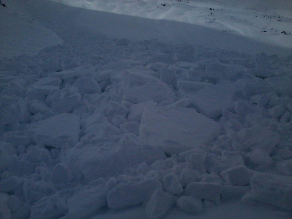 Nános lavíny