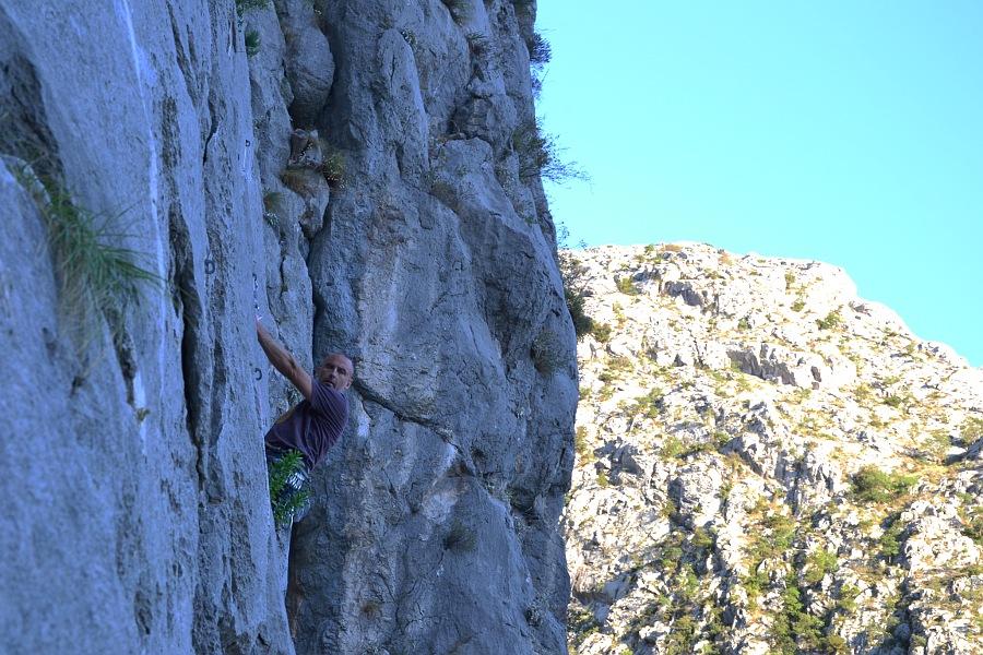 chorvátsko lezenie
